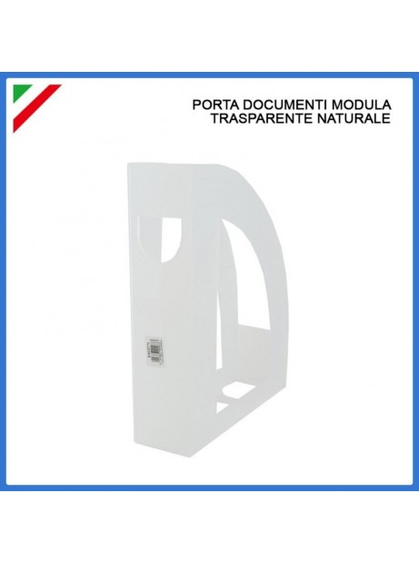 Porta documenti riviste trasparente modulabile Fellowes
