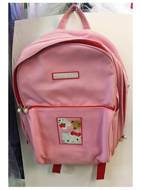 Zaino Americano Elementari Maxi Hello Kitty Rosa