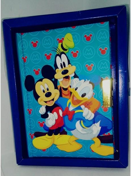 Diario segreto Mickey Mouse & friends