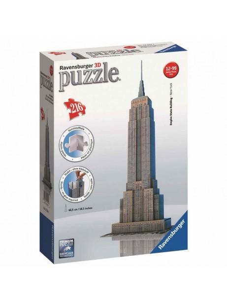 Puzzle 3d  Empire State Building Ravensburger New York 216pz