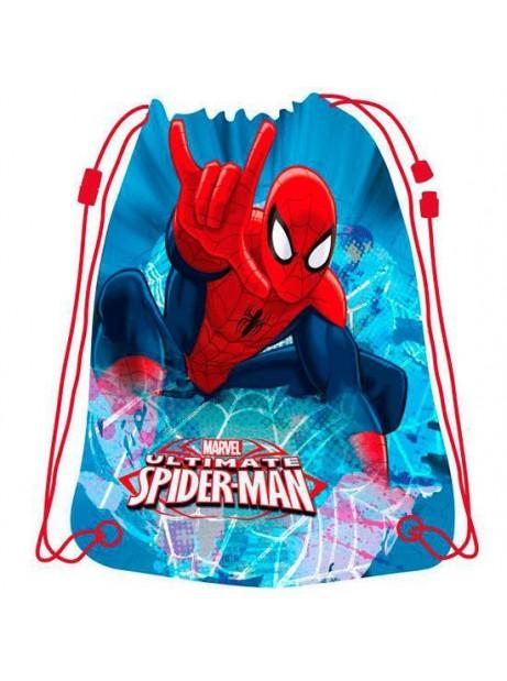 SACCA SPIDERMAN 33x44CM SAKKY BAG
