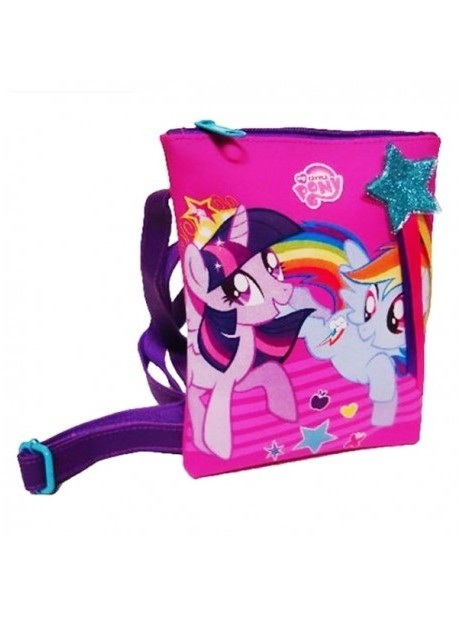 Borsa MY LITTLE PONY con Tracolla 14x19cm