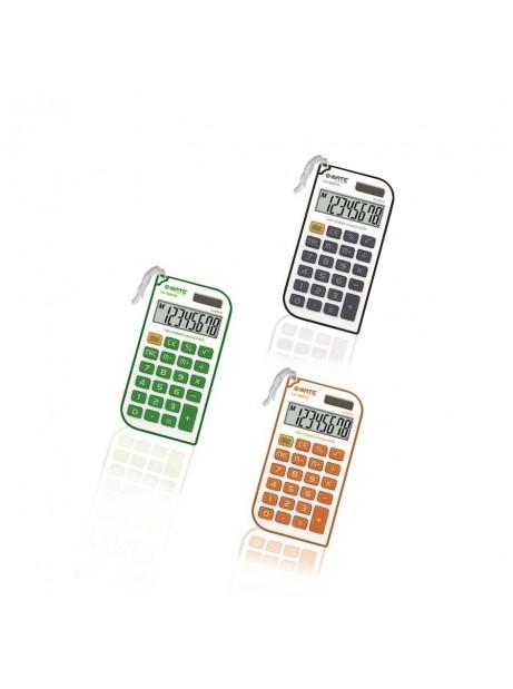 Calcolatrice Colorata Tascabile con Laccetto SH-240 tasti in gomma