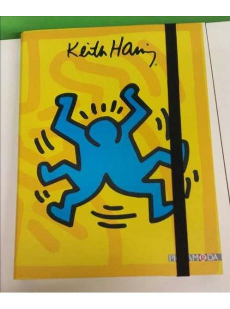 Cartellina c/Elastico Rigida Keith Han 25x24,5 cm D. 2,5cm